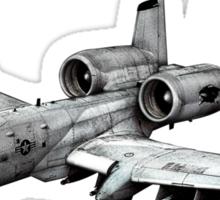 A-10 Thunderbolt II Sticker
