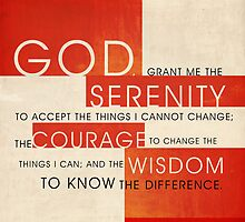 Serenity Prayer by Dallas Drotz