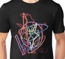 Neon abstract Unisex T-Shirt