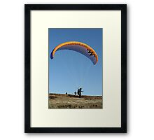 Preparing for Take Off Framed Print