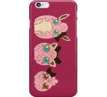 Pokemon - Puffs in a Row Design iPhone Case/Skin