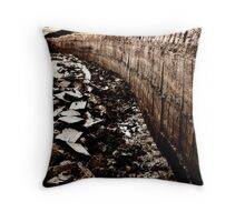 Peat Cuttings, Yell Throw Pillow