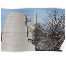 Martin Luther King, Jr. Memorial Poster