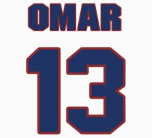 National baseball player Omar Infante jersey 13 by imsport