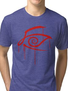 Crimson Eye Tri-blend T-Shirt