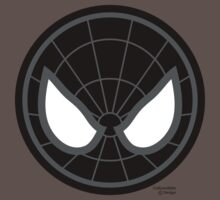 Hero Circles - Black Spidey Baby Tee