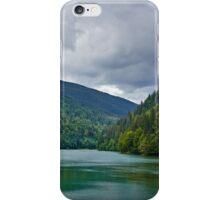 Lake Petrimanu in Romania iPhone Case/Skin