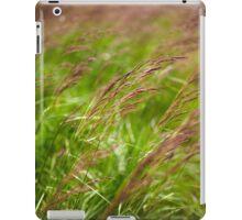 Closeup of grass iPad Case/Skin