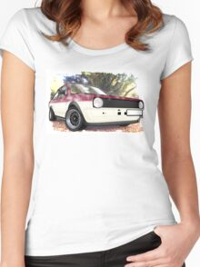 Polo Saloon Women's Fitted Scoop T-Shirt