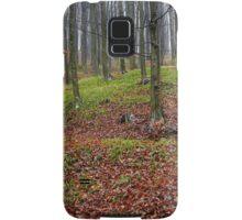 Enchanted forest in autumn Samsung Galaxy Case/Skin