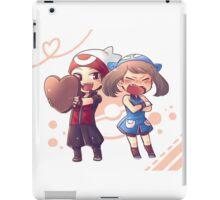 Pokémon players (Flora) iPad Case/Skin