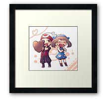 Pokémon players (Flora) Framed Print