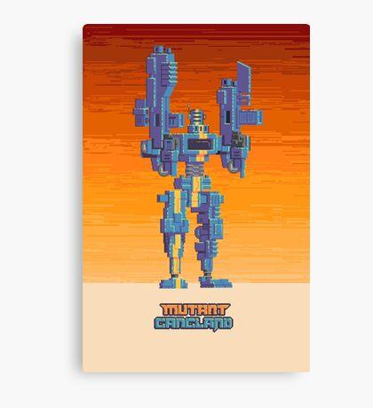 Mutant Gangland Signal Poster 1 Canvas Print