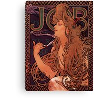 'Job' by Alphonse Mucha (Reproduction) Canvas Print