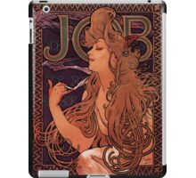 'Job' by Alphonse Mucha (Reproduction) iPad Case/Skin