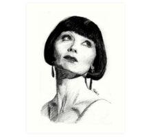 The Honourable Miss Phryne Fisher Art Print