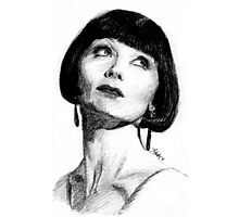 The Honourable Miss Phryne Fisher Photographic Print