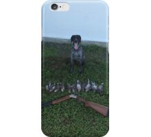 German Short Haired Pointer - Mallard Down iPhone Case/Skin