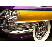Purple And Gold. Photographic Print