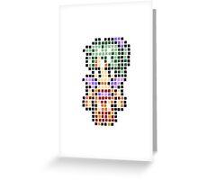 Pixel Terra Greeting Card