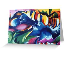 Energy Delight Greeting Card