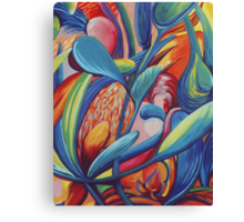 Symphony in Flowers Canvas Print