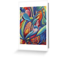 Symphony in Flowers Greeting Card