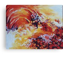 Sun bubbles Canvas Print