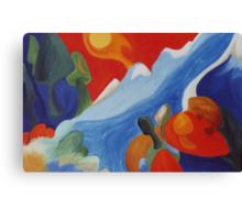 Natures Spirit Rising Canvas Print