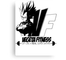 Lift like a Real Super Saiyan Canvas Print