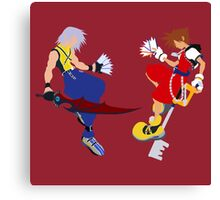 Sora and Riku Canvas Print
