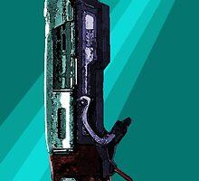 Gears of War - Gnasher by lobenshot
