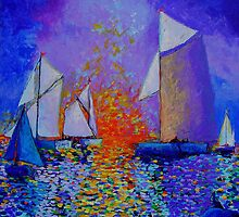 Fire on the Water by Shelley O'Hara Plunkett