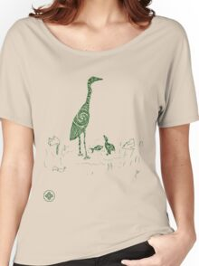 mother and chick sketch Women's Relaxed Fit T-Shirt