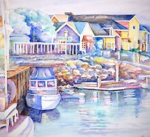fisherman's wharf, Channel Islands by gerardo segismundo
