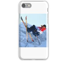 Skier iPhone Case/Skin
