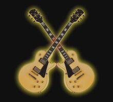 Double Gibson Randy Rhoads Les Paul Custom by mayala