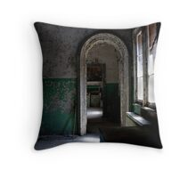 Archway to Despair Throw Pillow