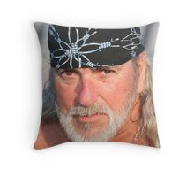 Not to bad for 73 yrs old!!! Throw Pillow