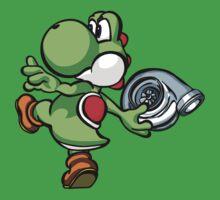 Yoshi throwing turbo Kids Clothes
