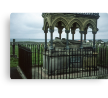 Tomb of Grace Darling, Sea Houses Bamburgh Northumberland England 198405280022m Canvas Print