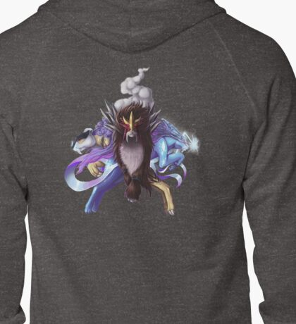 Pokemon: Legendary Beasts Zipped Hoodie