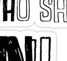 Monty Python - NI Sticker