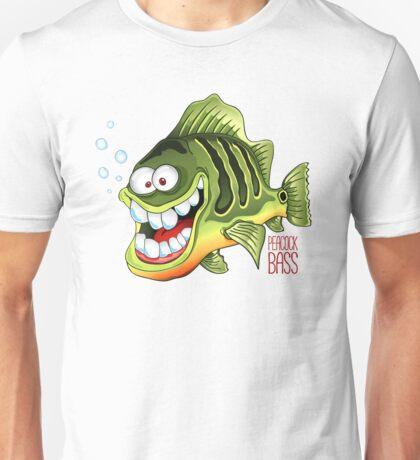 Happy Fish - Peacock Bass Unisex T-Shirt