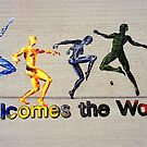 """Welcomes the World"" Mural by SteveOhlsen"