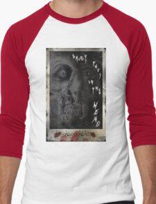 SHOOT THEM IN THE HEAD Men's Baseball ¾ T-Shirt