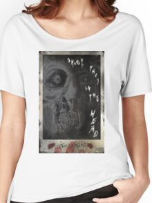 SHOOT THEM IN THE HEAD Women's Relaxed Fit T-Shirt