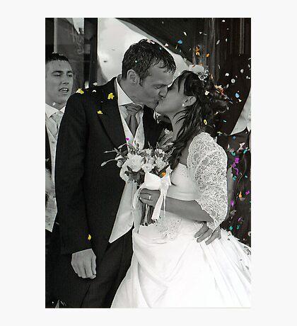 Mr &Mrs. Photographic Print