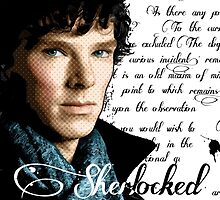 Benedict Cumberbatch, Sherlock Holmes - I Am Sherlocked by Everett Day