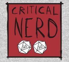Critical Nerd Kids Tee